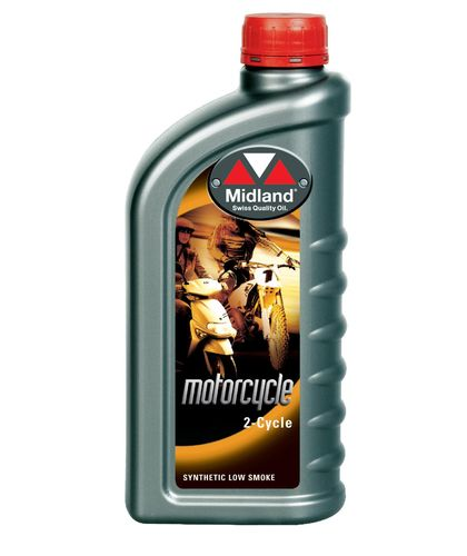 Midland Motorcycle 2-cycle Motor Oil 1 L